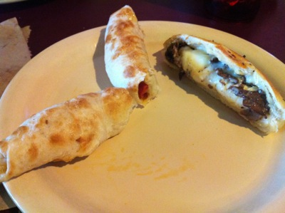 Peproni Roll and Cheesesteak Stromboli