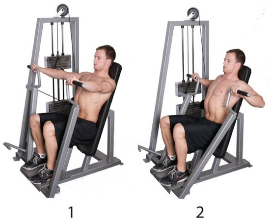 machines for lower chest